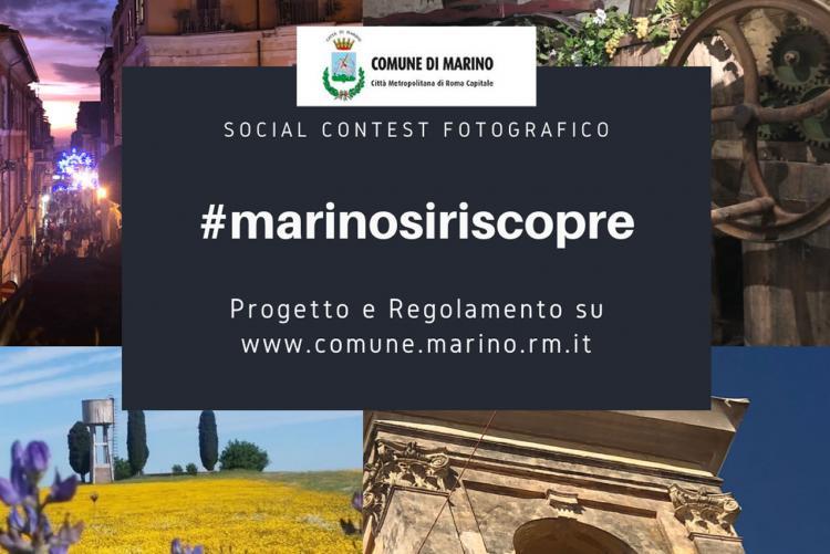 Social Contest Fotografico #marinosiriscopre
