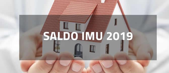 Saldo IMU 2019