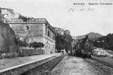Foto storica Marino - Stazione Ferroviaria