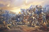 Ritorno dalla Battaglia di Lepanto Olio su tela - cm 3.80 x 1.80 - Marino, 14 gennaio 2000 - Autore: Stefano Piali