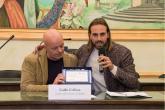 Il Sindaco Colizza e Dario Sciotti